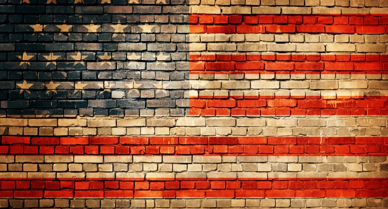 usa, usafahne, amerika, fahne, flagge, flag, american, background, urban, us, brick, america, united, building, abstract