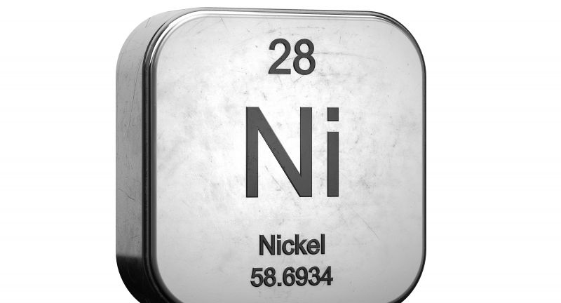 nickel, periodic table, chemical, chemistry, education, element, icon set, laboratory, mendeleev, metal, metal icon, metallic icon, object, physics, realistic, rounded square, science, series, set, shiny, sign, steel icon, substance, symbol, white background, atom