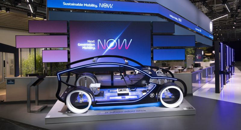 ZF Group, Next Generation Mobility. NOW., Autonomous Mobility. NOW., Electric Mobility. NOW, Autonomous Driving, Software-defined Car, IAA 2021, ZF, ZF@IAA2021