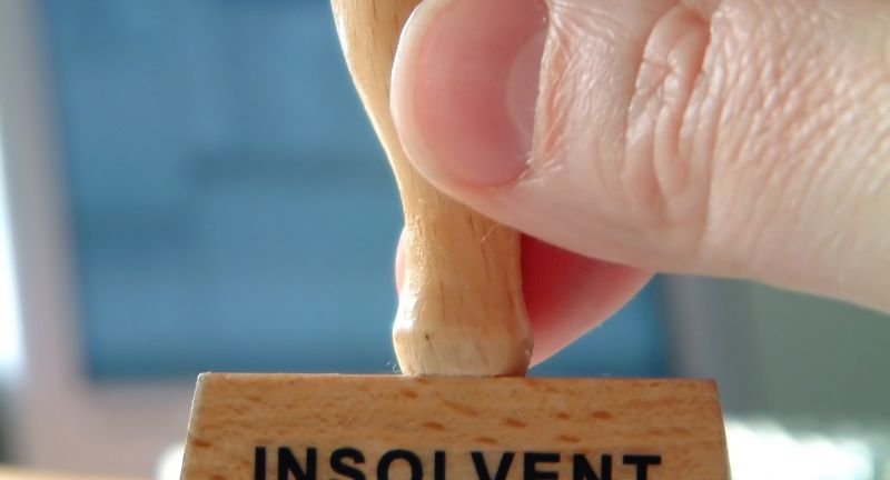 Insolvenz, Stempel